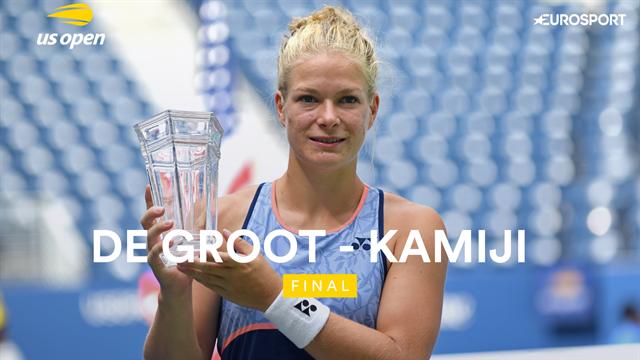 US Open 2019, De Groot-Kamiji, vídeo resumen del partido