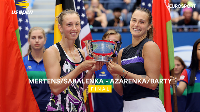 US Open| Elise Mertens wint dubbeltitel met Sabalenka