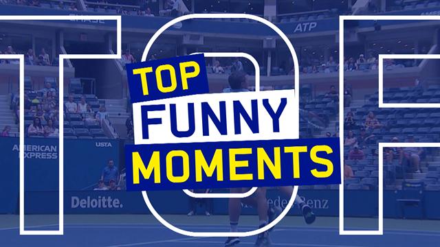 US Open 2019: ¡Para partirse! El top-5 con los momentos más divertidos del torneo