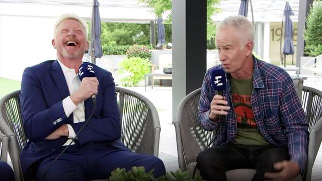 """Becker gesteht McEnroe: """"Natürlich habe ich dir was vorgemacht!"""""""