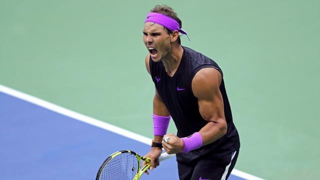 Así fue el último punto de la victoria de Nadal en el US Open 2019