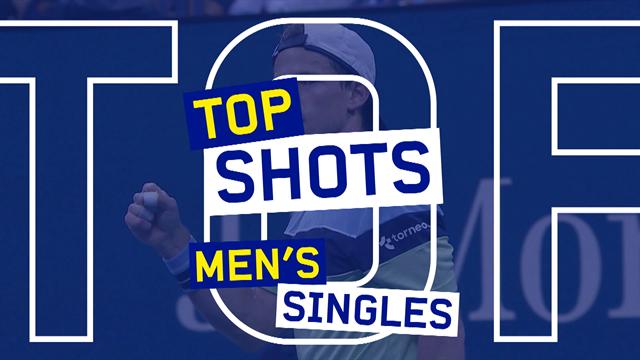 Top 10 US Open: i colpi più belli del torneo maschile, da Federer a Schwartzman