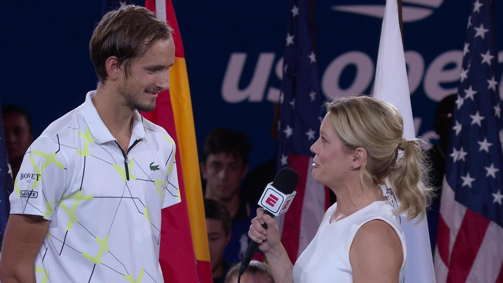 'Bad boy' Daniil Medvedev laat zich van goede kant zien na finale US Open