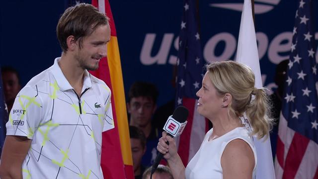 US Open | Medvedev laat zich van zijn beste kant zien na finale