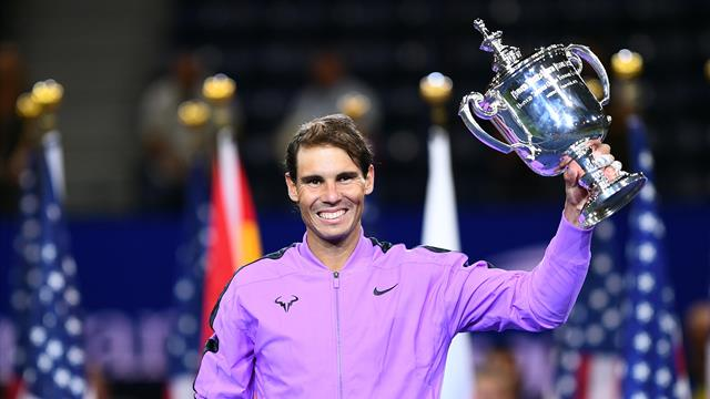 Nadal edges out Medvedev in thriller to win 19th Grand Slam title at US Open