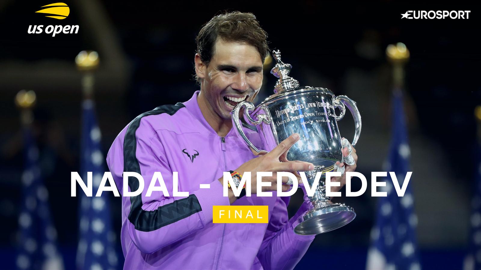 Rafael Nadal wint finale US Open van Medvedev. Bekijk de samenvatting