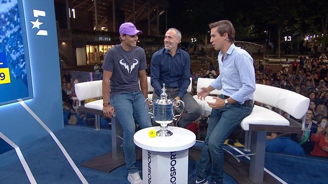 """US Open 2019, Nadal, a Eurosport: """"Tras la primera ronda en Barcelona me planteé parar un tiempo"""""""