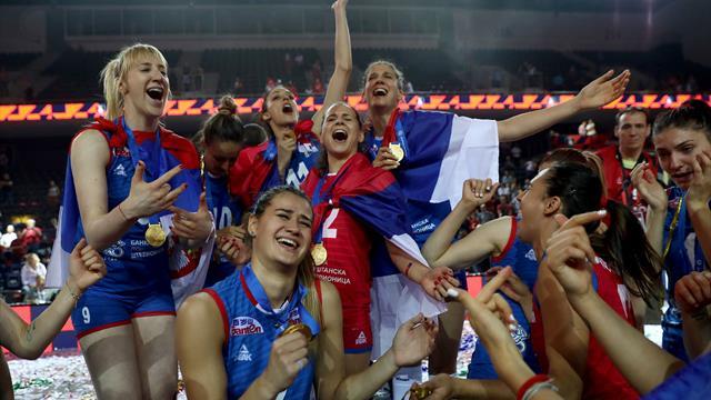 La Serbie conserve son titre de championne d'Europe