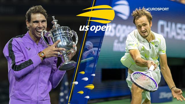 Highlights: Nadal vinder US Open efter maratonkamp mod Medvedev
