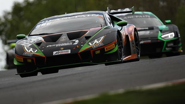 Orange1 FFF Racing Lamborghini pairing Caldarelli and Mapelli crowned Blancpain GT World Challenge