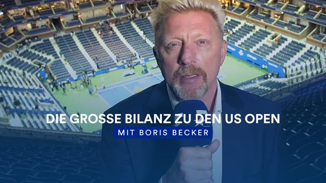Das Beste zum Schluss: Becker zieht US-Open-Fazit
