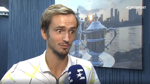 «Перед матчем выпил обезболивающее – все болит». Медведев после финала US Open