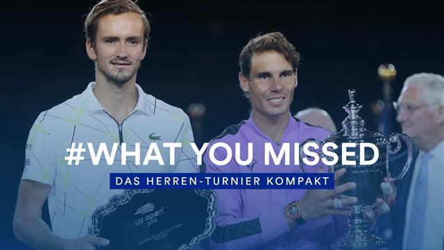 14 Tage Wahnsinn kompakt: So lief das Herren-Turnier der US Open 2019