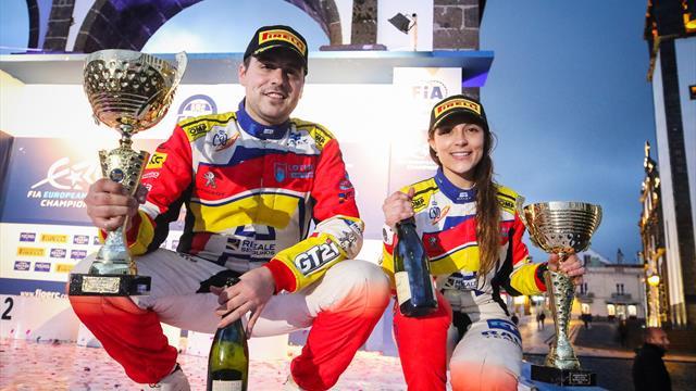 La Peugeot Rally Academy place Fernández, copilote de Llarena, dans la course au titre ERC3