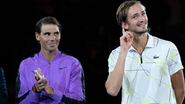 Nadal krönt sich in epischem Finale - Medvedev deutet die Wachablösung an