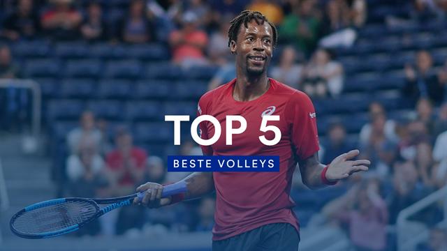 Grandios am Netz: Die besten Volleys der US Open