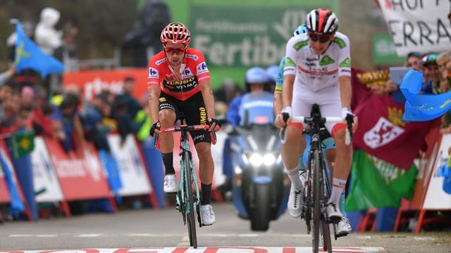 Roglic verteidigt Rot, Valverde fällt zurück - Fuglsang holt Etappen-Sieg