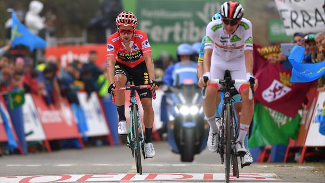 Vince Fuglsang! Anche oggi Roglic si stacca domani, male Valverde e Quintana
