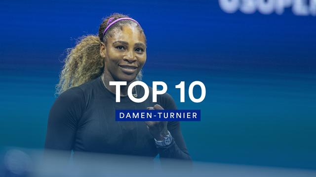 Serena gegen den Rest der Welt: Die besten Ballwechsel des Damen-Turniers