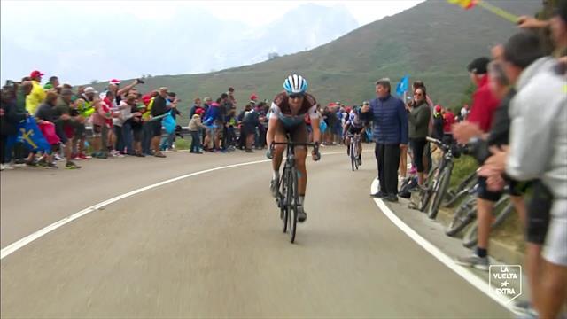 Cambia il leader nella classifica scalatori: Bouchard sorpassa Madrazo e si prende la maglia