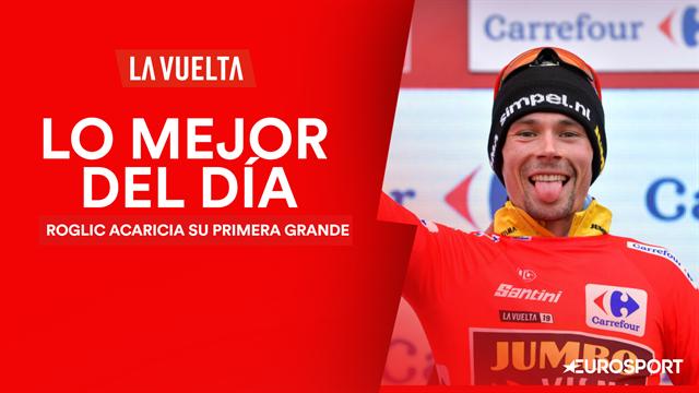 Vuelta a España 2019, lo mejor del día (16ª etapa): Roglic cada vez más cerca de su primera grande
