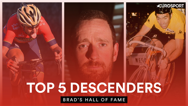 Brad's Hall of Fame: Bradley Wiggins names the best descenders he's seen from cycling history