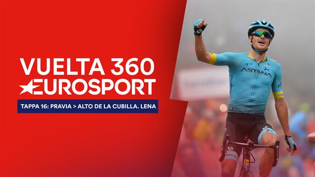 """""""Vuelta 360"""", tappa 16: Talent show a la Cubilla, amici di Magrini con canzoni, salita e Fuglsang"""