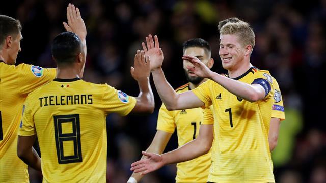 De Bruyne masterclass as Belgium embarrass Scotland at Hampden Park