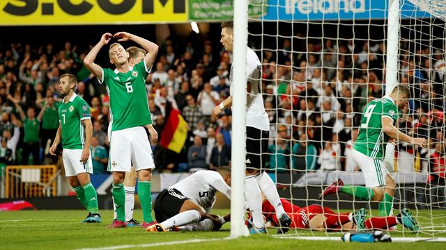 Northern Ireland hopes dented by Germany defeat in Belfast