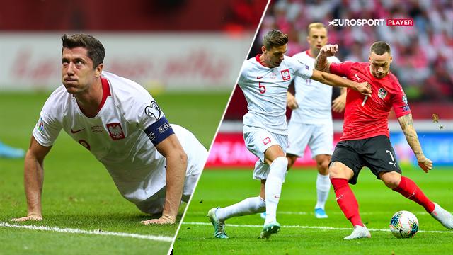 Highlights: Arnautovic og Lewandowski var uskarpe i remis mellem Polen og Østrig