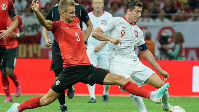 Poland's lead at the top cut after goalless draw with Austria