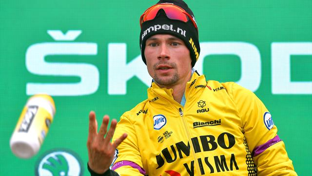 Primoz Roglic signs four-year contract extension with cycling's rising superpower Jumbo-Visma