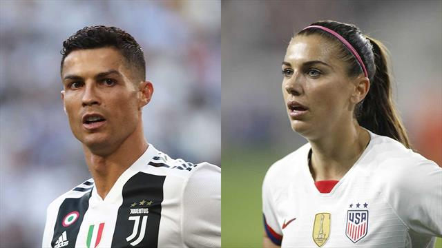 """Alex Morgan attacca Cristiano Ronaldo: """"Lo stupro? Troppe prove, i soldi aiutano sempre..."""""""