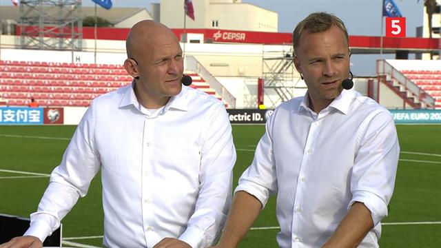 Lars Jacobsen om en Bendtner i topform: Så du, da han kørte Chiellini direkte ned på Trianglen?