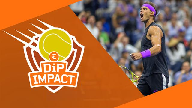 Jusqu'où iront Nadal, Medvedev et Andreescu ? Revivez DiP Impact !