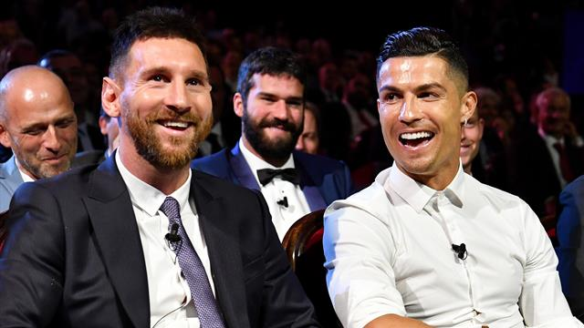 Messi votes for Ronaldo… but the favour is not returned