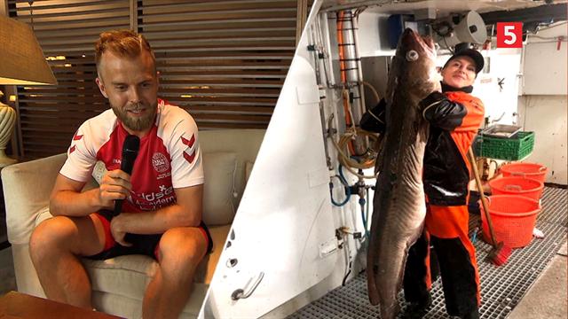 Løn, machobold i Polen og fisker-kæresten: Se Kians fantastiske indslag med Christian Gytkjær