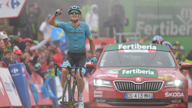 Fuglsang denies Geoghegan Hart as Roglic extends lead on La Cubilla