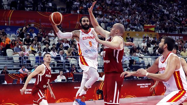 Mundial de baloncesto 2019, España-Polonia: Ricky nos lleva a semis y casi a Tokio 2020 (90-78)