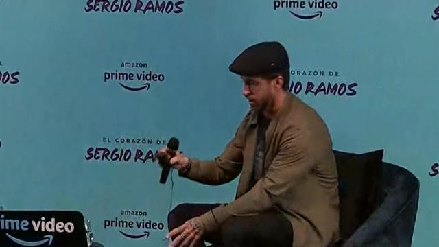 """Sergio Ramos: """"Si el documental sirve para inspirar a los niños habrá merecido la pena"""""""
