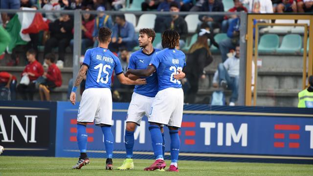 Doppietta di Scamacca, buona la prima degli Azzurrini di Nicolato: 5-0 Italia sul Lussemburgo