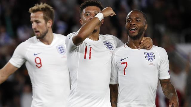 England battle past spirited Kosovo in extraordinary eight-goal thriller