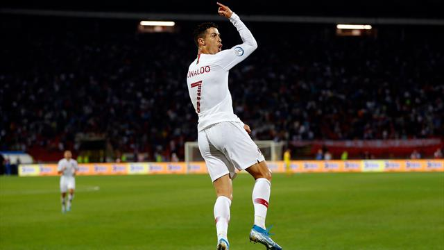 Ronaldo macht mit Viererpack Jagd auf Rekord: Wackelt die Bestmarke?
