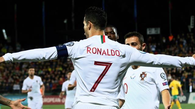 Ronaldo show, poker e nuovo record: è il più prolifico di sempre nelle qualificazioni