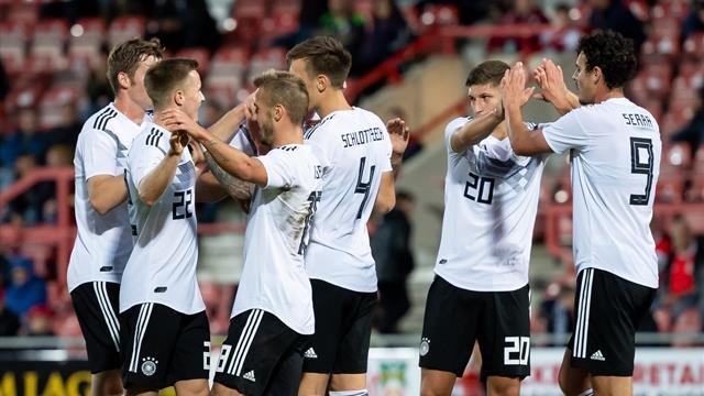 Deutsche U21 startet mit Kantersieg in die EM-Quali