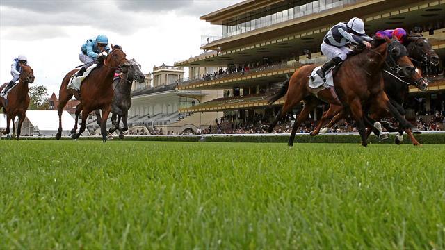 Circus Maximus devance à la lutte Romanised dans le Prix du Moulin de Longchamp
