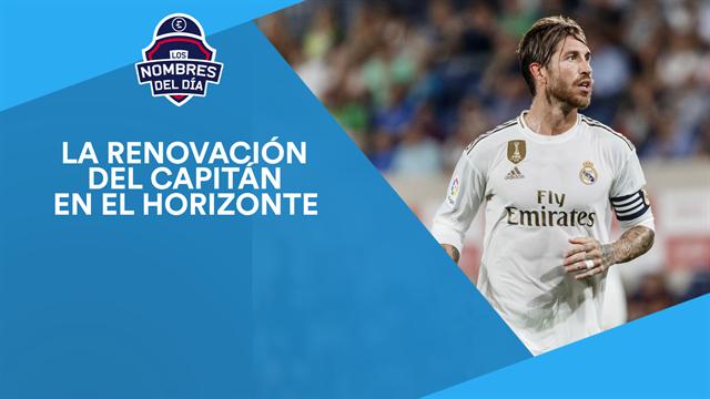 Ramos, Neymar, Cristiano, Messi y Djokovic, los nombres del día