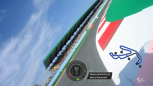MotoGP | Onboard rond het Misano circuit
