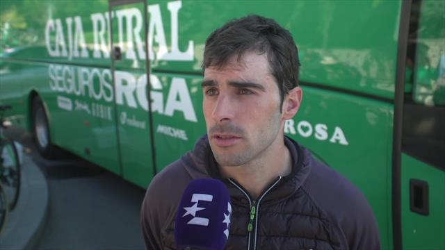 Vuelta a España2019: Jon Aberasturi espera una llegada al esprint y tener opciones de victoria