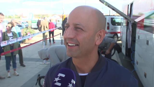 Vuelta a España 2019: Matxin Fernandez sigue cuidando a la revelación Tadej Pogačar